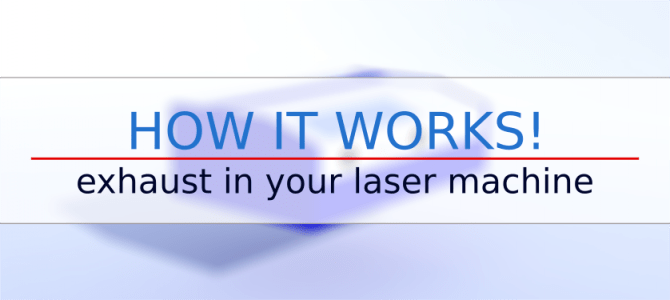 How it works: Exhaust in your laser machine