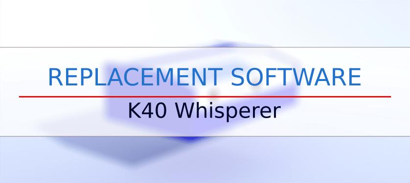 K40 Whisperer - replacement software - K40laser se