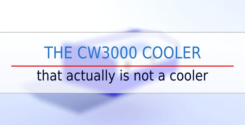 k40 laser cw3000 cooler