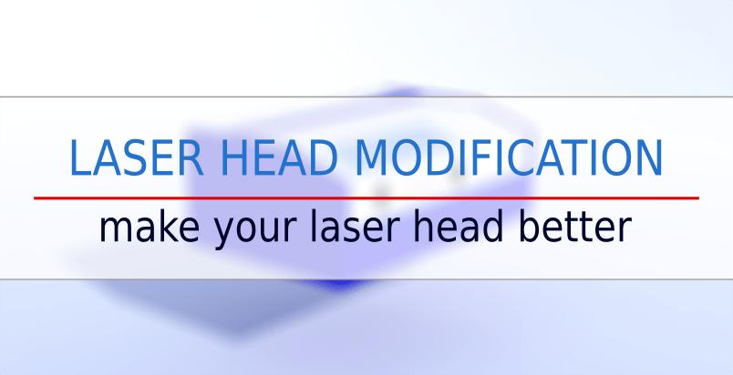 k40 laser head modification