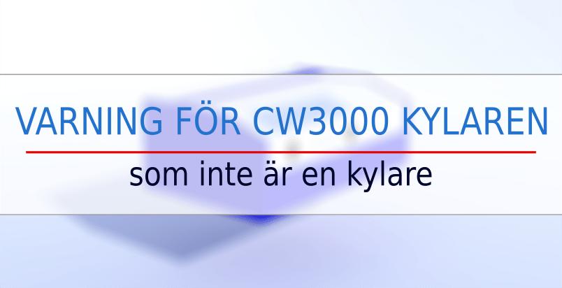 k40 laser cw3000 kylare